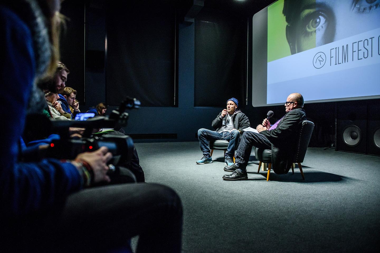 Film Fest Gent - Talk - Jeroen Perceval (21-10-2015)
