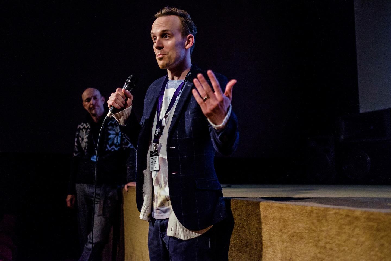 Film Fest Gent - Q&A Kyle Rydeout - Eadweard